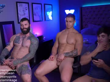 [18-11-20] creamybros record video with toys from Chaturbate