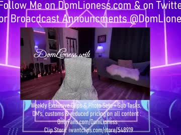 [01-05-21] domlioness record show with toys from Chaturbate
