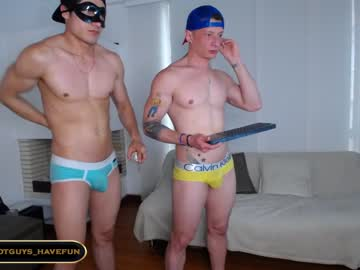 [08-06-21] hot_guys_have_fun blowjob show from Chaturbate